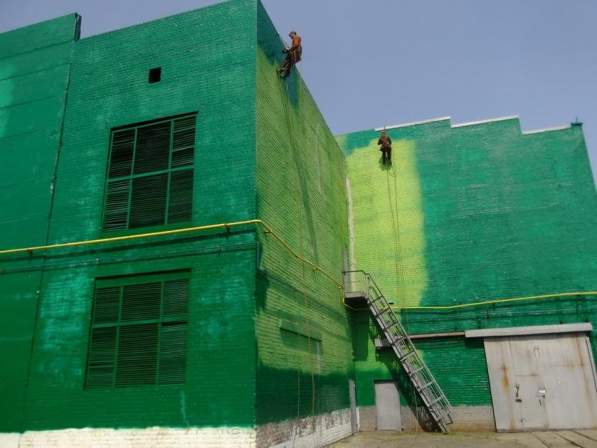 Покраска фасадов смета